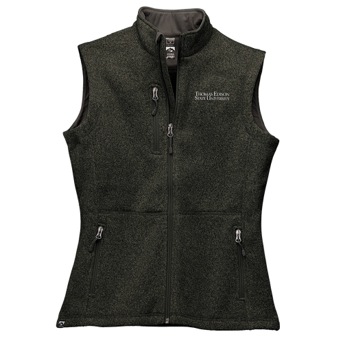 WOMEN'S SWEATERFLEECE VEST- Academic
