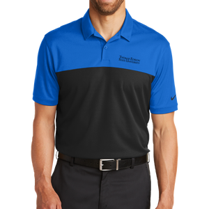 Nike Dri-FIT Colorblock Micro Pique Polo- Academic