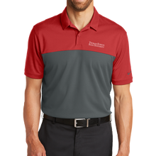 Load image into Gallery viewer, Nike Dri-FIT Colorblock Micro Pique Polo- Academic