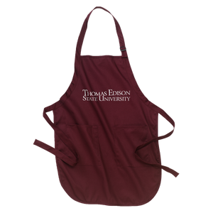 Full-Length Apron with Pockets- Academic - TESU Clearance