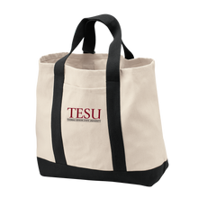 Load image into Gallery viewer, Port Authority  Two Tone Shopping Tote - Serif
