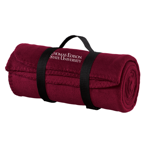 Value Fleece Blanket with Strap-Academic