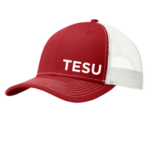 Load image into Gallery viewer, Port Authority Snapback Trucker Cap - TESU Sans Puff