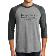 Load image into Gallery viewer, District Perfect Tri 3/4-Sleeve Raglan- Alumni