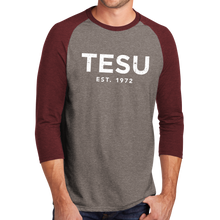 Load image into Gallery viewer, District Perfect Tri 3/4-Sleeve Raglan- Distress