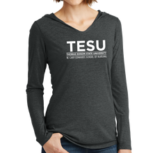 Load image into Gallery viewer, District Women's Perfect Tri Long Sleeve Hoodie - Nursing Sans