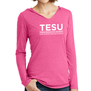 District Women's Perfect Tri Long Sleeve Hoodie - Science and Technology Sans