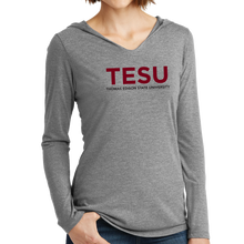 Load image into Gallery viewer, District Women's Perfect Tri Long Sleeve Hoodie - Sans Serif