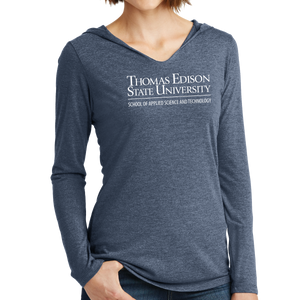 District Women's Perfect Tri Long Sleeve Hoodie - Science and Technology Academic