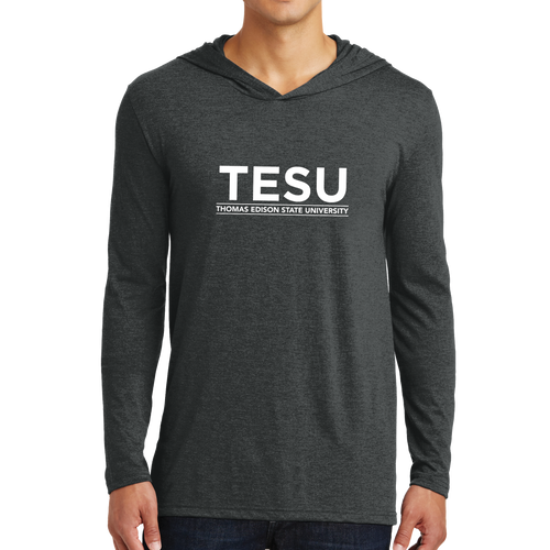 District Perfect Tri Long Sleeve Hoodie - Sans Serif
