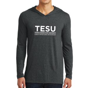 District Perfect Tri Long Sleeve Hoodie - Science and Technology Sans