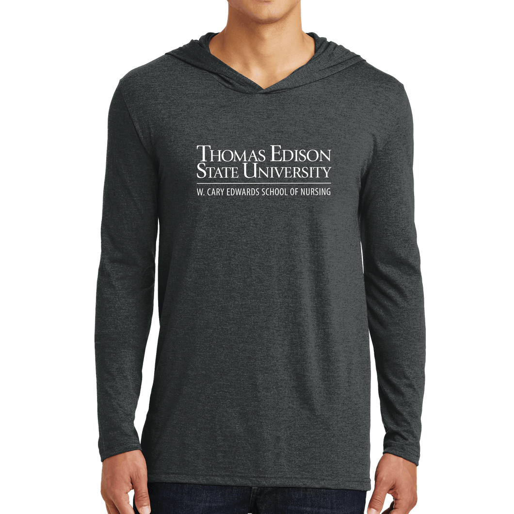 District Perfect Tri Long Sleeve Hoodie - Nursing Academic