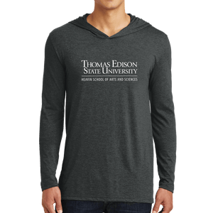 District Perfect Tri Long Sleeve Hoodie - Heavin School Academic
