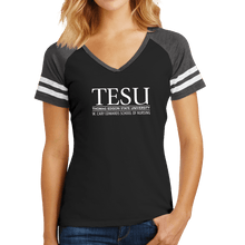 Load image into Gallery viewer, District Women's Game V-Neck Tee - Nursing