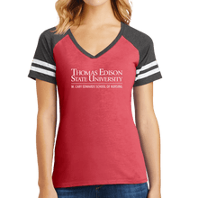 Load image into Gallery viewer, District Women's Game V-Neck Tee - Nursing Academic