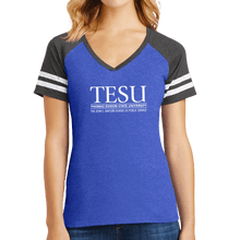 Load image into Gallery viewer, District Women's Game V-Neck Tee - John S. Watson