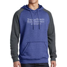 Load image into Gallery viewer, District Lightweight Fleece Raglan Hoodie- Alumni
