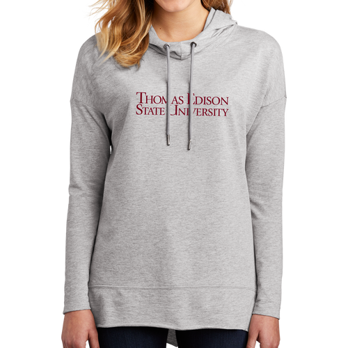District Women's Featherweight French Terry Hoodie- Academic