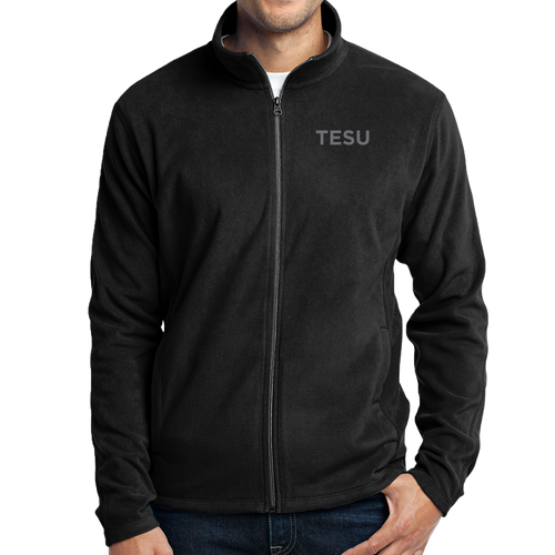 Port Authority Microfleece Jacket- TESU Sans