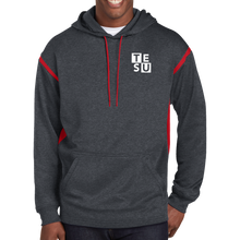 Load image into Gallery viewer, Sport-Tek Tech Fleece Colorblock Hooded Sweatshirt- Block
