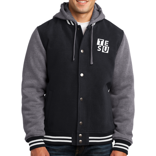 Sport-Tek Insulated Letterman Jacket- Block