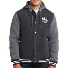 Load image into Gallery viewer, Sport-Tek Insulated Letterman Jacket- Block