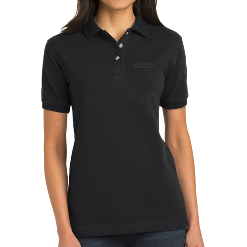 Port Authority Ladies Heavyweight Cotton Pique Polo