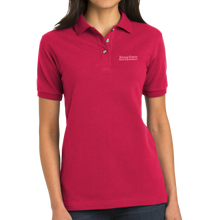 Load image into Gallery viewer, Port Authority Ladies Heavyweight Cotton Pique Polo