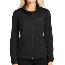 Load image into Gallery viewer, Ladies Active Soft Shell Jacket- Academic