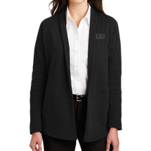 Load image into Gallery viewer, Port Authority Ladies Interlock Cardigan - Serif