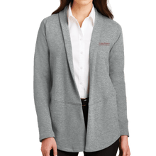 Load image into Gallery viewer, Port Authority Ladies Interlock Cardigan-Academic logo