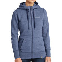 Load image into Gallery viewer, New Era Ladies French Terry Full-Zip Hoodie- Academic
