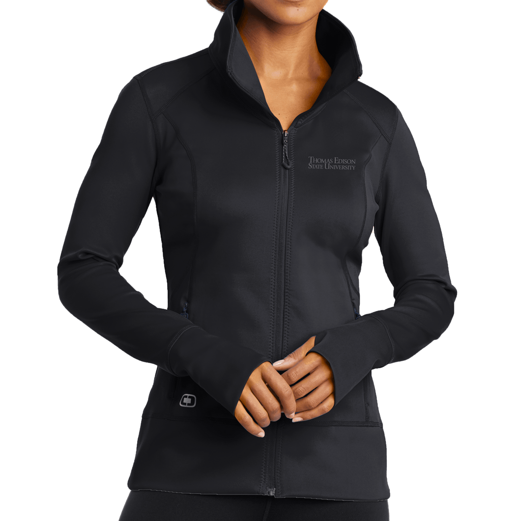 OGIO ENDURANCE Ladies Fulcrum Full-Zip- Academic