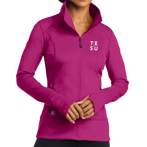 OGIO ENDURANCE Ladies Fulcrum Full-Zip- Grid