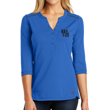 Load image into Gallery viewer, OGIO Ladies Fuse Henley- Block