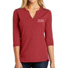 Load image into Gallery viewer, OGIO Ladies Fuse Henley - Serif
