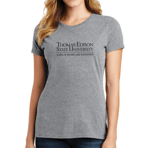 Port & Company Ladies Fan Favorite Tee- Heavin School Academic