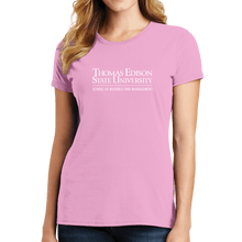 Load image into Gallery viewer, Port & Company Ladies Fan Favorite Tee- Heavin School Academic