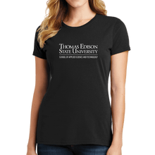 Load image into Gallery viewer, Port & Company Ladies Fan Favorite Tee- Science and Technology Academic