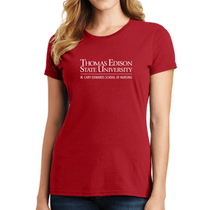 Port & Company Ladies Fan Favorite Tee- Nursing Academic