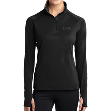 Load image into Gallery viewer, Ladies Sport-Wick Stretch 1/2-Zip Pullover-Serif - Close Out