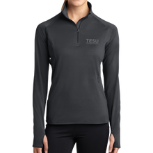 Load image into Gallery viewer, Sport-Tek Ladies Sport-Wick Stretch 1/2-Zip Pullover- Sans Serif