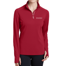 Load image into Gallery viewer, Sport-Tek Ladies Sport-Wick Textured 1/4-Zip Pullover- Academic