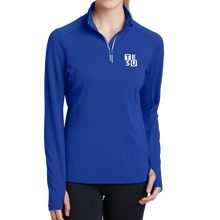 Load image into Gallery viewer, Sport-Tek Ladies Sport-Wick Textured 1/4-Zip Pullover- Block