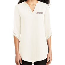 Load image into Gallery viewer, Port Authority Ladies 3/4 Sleeve Tunic Blouse - Academic