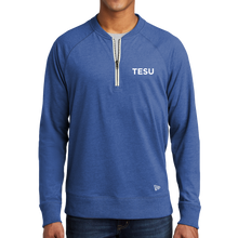 Load image into Gallery viewer, New Era Sueded Cotton Blend 1/4-Zip Pullover - TESU Sans