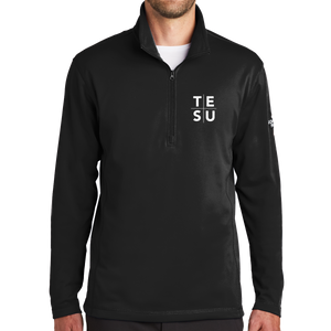 The North Face Tech 1/4-Zip Fleece- Grid