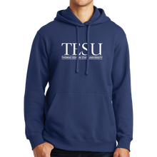 Load image into Gallery viewer, Port & Company Fan Favorite Fleece Pullover Hooded Sweatshirt- Serif