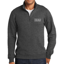 Load image into Gallery viewer, Port & Company Fan Favorite Fleece 1/4-Zip Pullover Sweatshirt - Serif