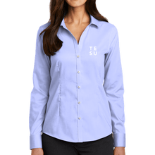 Load image into Gallery viewer, Red House Ladies Pinpoint Oxford Non-Iron Shirt- Grid